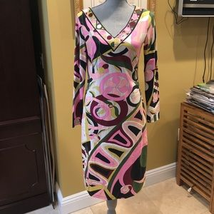 Emilio Pucci Made in Italy Dress sz 10